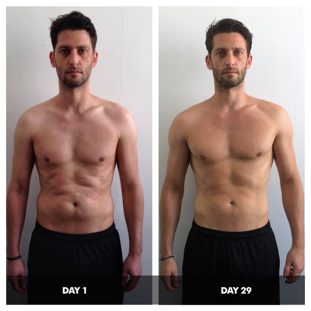 ultimate transformation 4 weeks